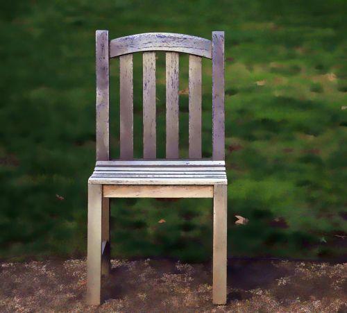 kėdė, kėdės, medinis, vienas, vienas, vienas, dažytos, meno, Laisvas, viešasis & nbsp, domenas, sėdynė, sėdėti, medinė kėdė