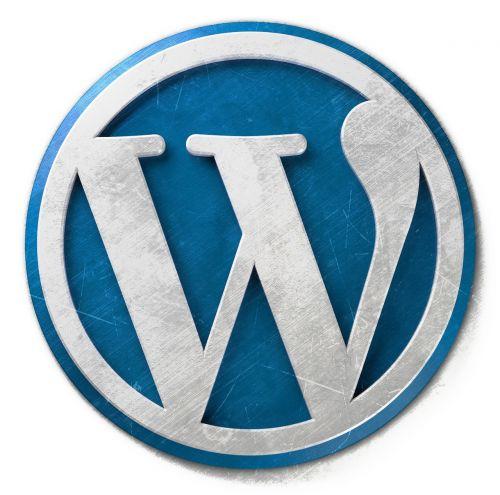 WordPress,wordpress logotipas,WordPress piktograma,dienoraštis,dienoraščių,dienoraščio svetainė,Interneto svetainė,svetainė,cms,turinio valdymo sistema,metalinis,metalas