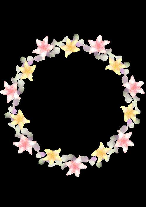 vainikas,korola,lelija,ornamentas,gėlės,gėlių