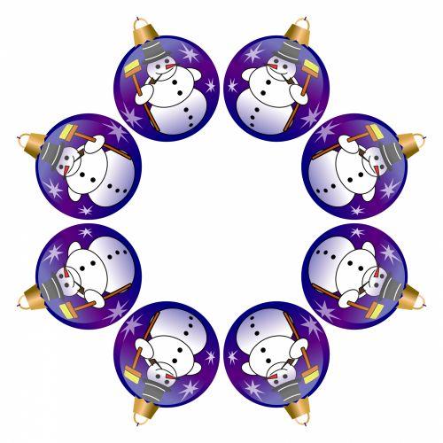 xmas, Kalėdos, rutuliai, apdaila, sniego senis, Kaleidoskopas, izoliuotas, balta, fonas, simetriškas, piešimas, veidrodis, Xmas kamuoliai