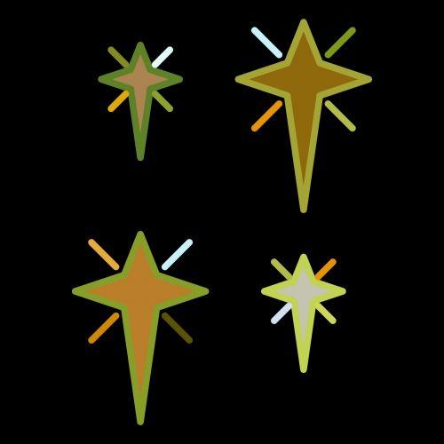 xmas, x-mas, Kalėdos, žvaigždės, izoliuotas, spalva, juoda, geltona, fonas, piešimas, xmas žvaigždės