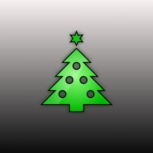 piešimas, xmas, Kalėdos, x-mas, medis, gradientas, žalias, pilka, fonas, simbolis, xmas tree