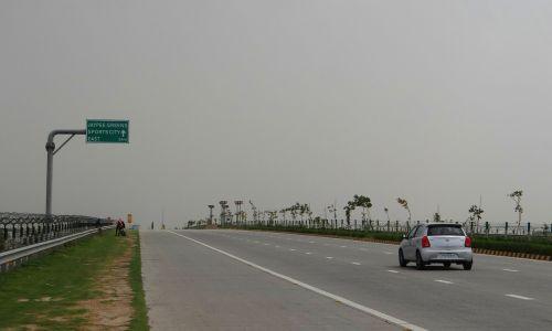 Yamuna greitkelis,delhi-agra,taj greitkelis,Indija,kelias,gatvė