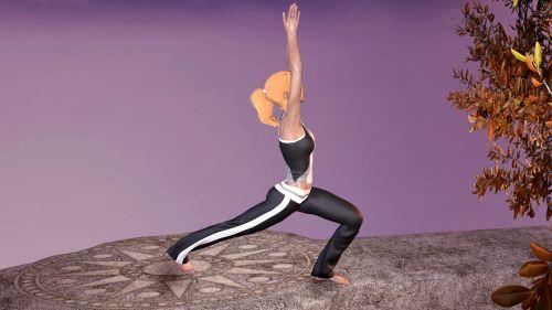 joga, pratimas, moteris, Sportas, atsipalaidavimas, ramus, harmonija, figūra, meditacija, gimnastika, gamta, joga