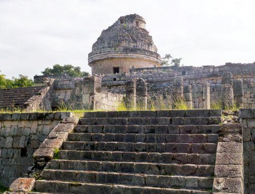 yukatanas,chichen itza,planetariumas