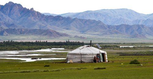 yurt,Mongolija,stepė,altas