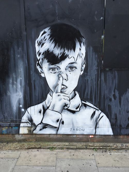 zabou,gatvės menas,Londonas,plytų kelias,shoreditch,fjeras,lengviau,menas,miesto menas,grafiti