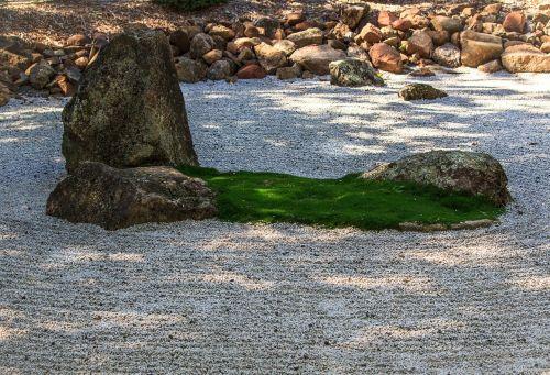 zen sodas,meditacija,įžvalga,supratimas,taikus,Mahajanos budizmas,asian sodas,kinų sodas,japoniškas sodas,grubiai žvirgždas,akmenys,akmenys