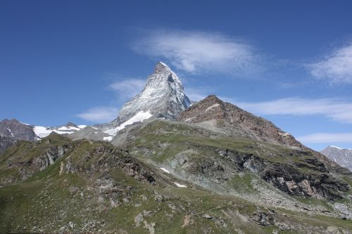 Zermatt, Matterhorn, Šveicarija