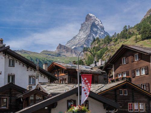 Zermatt,  Šveicarija,  Namai,  Be Honoraro Mokesčio