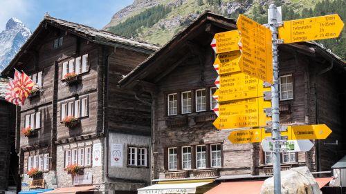 Zermatt,  Namai,  Šveicarija,  Be Honoraro Mokesčio