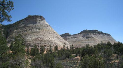 zion,Nacionalinis parkas,akmens siena,usa,Utah