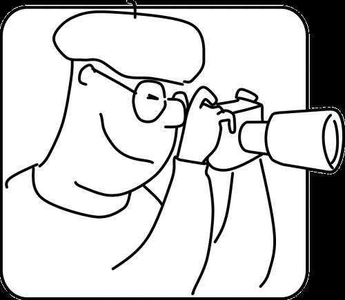 priartinantis objektyvas,Fotografas,objektyvas objektyvas,fotografija,pagrindinis lęšis,akiniai,vyras,vaikinas,dude,nemokama vektorinė grafika